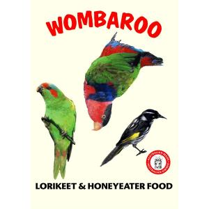 Wombaroo  Lorikeet And Honeyeater Food Formula 300g