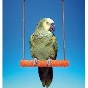 Penn Plax Cement Bird Swing With Wire Frame - 9""""