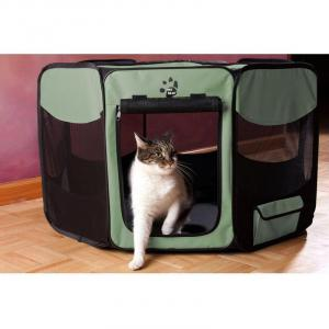 Pet Gear Octagonal - Collapsible Play Pen 46In (115Lx115Wx70Hcm)