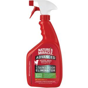 Natures Miracle Nature's Miracle Advanced Formula Stain & Odour Remover Sunny Lemon Scent 946ml