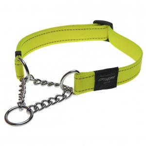 Rogz Obedience - Half Check Chain - Dog Collar Large