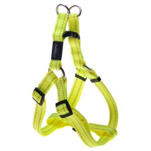 Rogz  Fanbelt Step-in Harness Dayglow Yellow - Large 53cm - 76cm