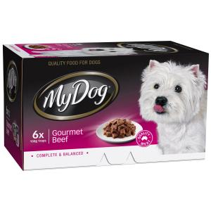 My Dog  Chef Select Gourmet Beef - Multipack 6x100gm