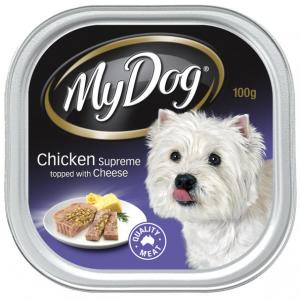 My Dog  Chicken Supreme With Cheese Wet Food - 100g