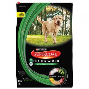 Supercoat  Smartblend Adult Healthy Weight Chicken Dry Dog Food 18kg
