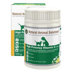 NAS Natural Animal Solutions High Potency Vitamin C 100g