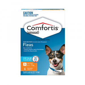 Comfortis  Orange - For Dogs 4.6-9kg 6 pack