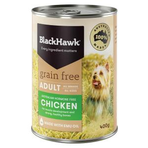 Black Hawk  Wet Dog Food - Grain Free Chicken 400g
