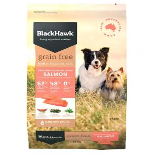Black Hawk  Grain Free Salmon 15kg