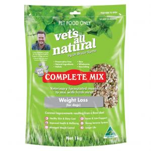 Vets All Natural Complete Mix - Weight Loss For Dogs 1kg