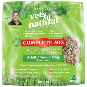 Vets All Natural Complete Mix For Adult And Senior Dogs 5kg