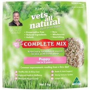 Vets All Natural Complete Mix For Puppies 5kg