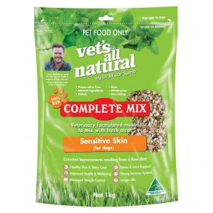 Vets All Natural Complete Mix - Sensitive Skin For Dogs 1kg
