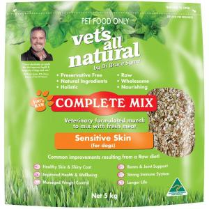 Vets All Natural Complete Mix - Sensitive Skin For Dogs 5kg