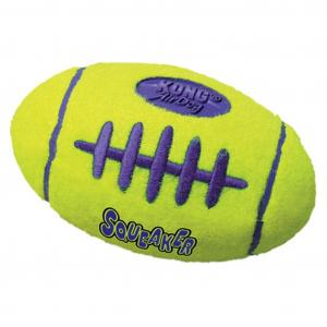 KONG Airdog Squeaker Football - Dog Fetch Toy Large