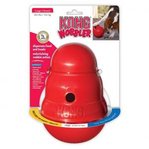 KONG Wobbler - Treat Dispensing Dog Toy Large