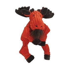 Huggle Hounds Knottie - Moose - Soft Dog Toy Large