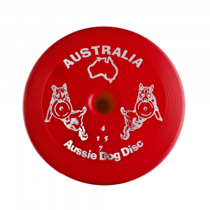 Aussie Dog  Disc Hard - Red
