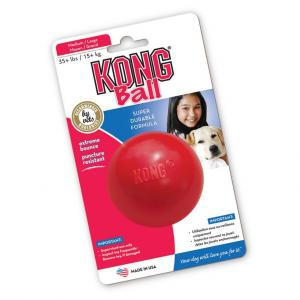 KONG Ball - Rubber Dog Toy Medium/Large