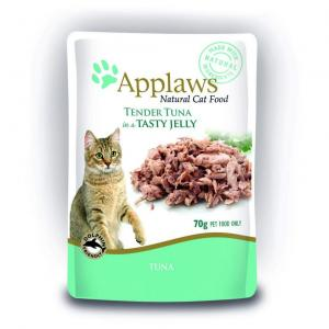 Applaws  Cat Pouch Tuna Wholemeat In Jelly - 70gm