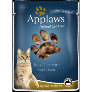 Applaws  Cat Tuna With Sea Bream Pouch - 70gm