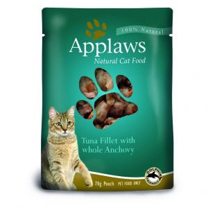 Applaws  Cat Pouch Tuna And Anchovy - 70gm