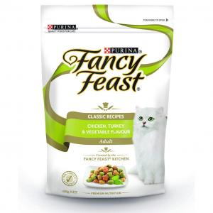 Fancy Feast   Adult Chicken, Turkey And Vegetables Dry Cat Food - 450gm