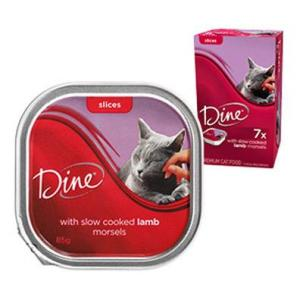Dine Daily Variety - Lamb Cuts In Gravy - Cat Food Tray 1X85GM