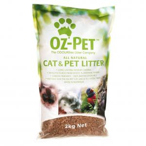 Oz-Pet  All Natural Pet & Cat Litter 2kg