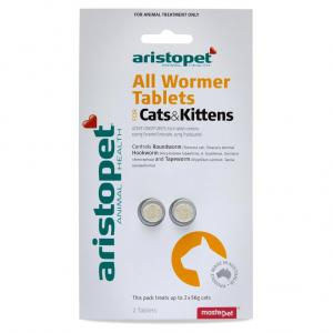 Aristopet All Wormer Treatment For Cats 2 pack
