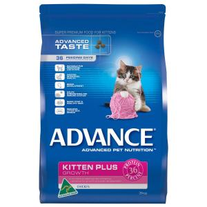Advance - Kitten Plus - Chicken - Dry Kitten Food