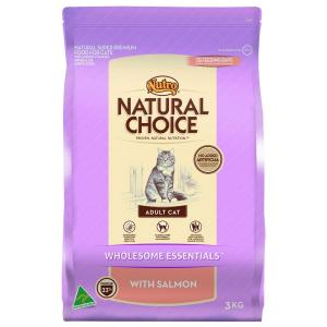 Nutro  Natural Choice - Adult Salmon - Dry Cat Food 3kg