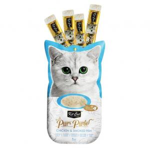 PURR PUREE  Chicken Chicken & Smoked Fish 60gm