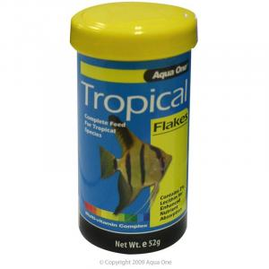 Aqua One Tropical Flake - Fish Food