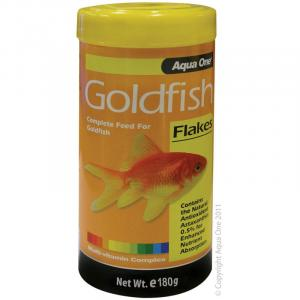Aqua One Goldfish Flakes - Fish Food