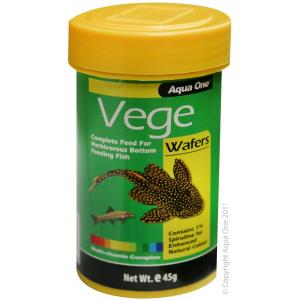 Aqua One  Vege Wafer Food