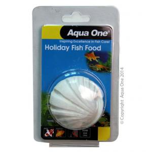 Aqua One Ao Block Holiday Fish Food 40g
