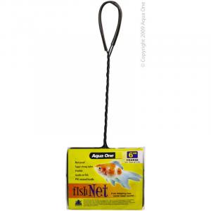 Aqua One Coarse Fish Net 6In