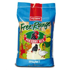 Peters  Free Range Poultry Mix 20kg