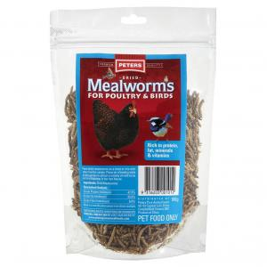 Peters  Dried Mealworms 100g