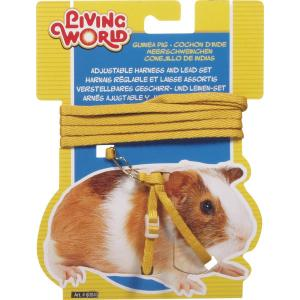 Living World Guinea Pig - Harness And Lead Set