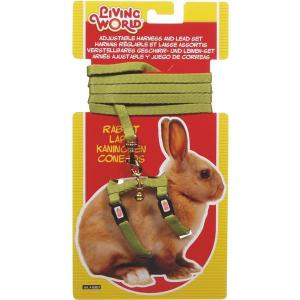 Living World  Rabbit Harness And Lead Set