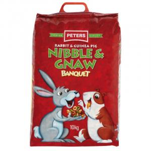 Peters Nibble & Gnaw - Rabbit And Guinea Pig Food Mix 4kg