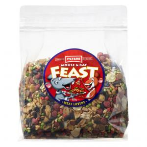Peters  Mouse And Rat Meat Lovers Feast - 800gm