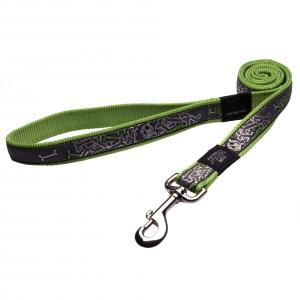 Rogz  Armed Response Dog Lead - Lime Juice 1.2m