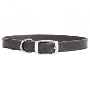 BEAU PETS Dog Collar Leather Deluxe Sewn Plain 45cm