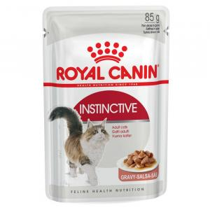 Royal Canin  Instinctive Adult Cat Food - Gravy - 85gm