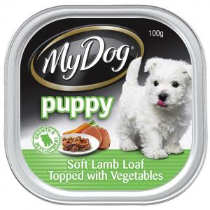 My Dog Puppy Lamb Loaf And Vegetables - Tray Dog Food 1x100gm
