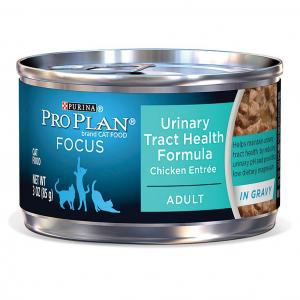 Pro Plan  Focus Adult Cat Urinary Tract Health Formula Chicken Entree - 85gm
