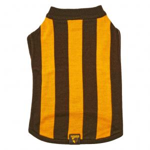 AFL Winter 2018 Afl Supporter Dog Jumper Hawthorn Small